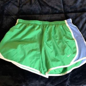Nike green and blue shorts!